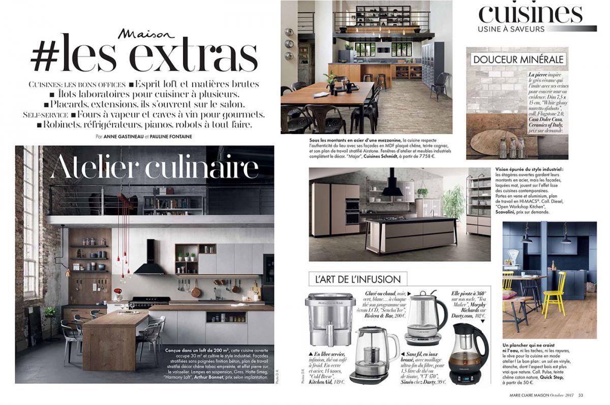 Une Folle Envie De Cuisiner | Marie Claire Maison | Pauline Fontaine